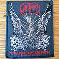 Obituary - Patch - Obituary - Cause Of Death 1990 patch