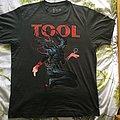 Tool Vienna concert t-shirt