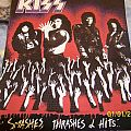 UNUSED ORIGINAL KISS Smashes Thrashes & Hits back patch