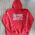 Napalm Death - Logo Hoodie Hooded Top