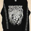 Sabotage Organized Barbarian Longsleeve