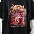 """Visceral Disgorge """"Slithering Evisceration"""" tshirt"""