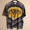 VAN HALEN - Tie Dye Tshirt 1991