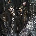 Satanic leatherrrr Battle Jacket