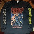 Malevolent Creation -  The Ten Commandments  LS TShirt or Longsleeve