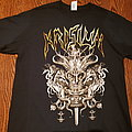 Krisiun - Death chopping tour shirt with dates