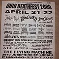 Deeds Of Flesh - Other Collectable - Ohio Deathfest 2000 flyer