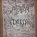 Suffocation - Other Collectable - Suffocation flyer