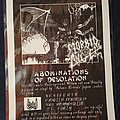 Morbid Angel - Other Collectable - Morbid Angel promo flyer