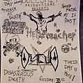 Hellpreacher - Other Collectable - Bullshit Productions flyer