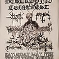 Sadistic Intent - Other Collectable - Destroying Texas Fest 9 flyer