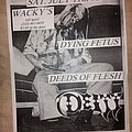Dying Fetus - Other Collectable - Dying Fetus flyer