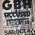 Gbh - Other Collectable - GBH flyer