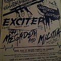 Exciter - Other Collectable - Omni Anniersary flyer