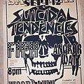 Suicidal Tendencies - Other Collectable - Suicidal Tendencies flyer