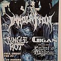 Immolation - Other Collectable - Immolation flyer sticker