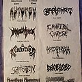 Suffocation - Other Collectable - A Day of Death flyer