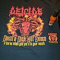 Deicide - TShirt or Longsleeve - Deicide Devil's Dick Hot Sauce