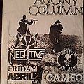 Agony Column - Other Collectable - Agony Column flyer
