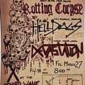 Rotting Corpse - Other Collectable - Third Wave flyer