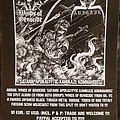 Winds Of Genocide - Other Collectable - Witch Hammer promo flyer