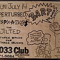 The Dispicables - Other Collectable - 1033 Club flyer