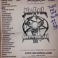 Dying Fetus - Other Collectable - March Metal Meltdown 3 flyer