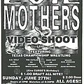 Evil Mothers - Other Collectable - Evil Mothers video shoot flyer