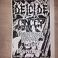 Deicide - Other Collectable - Deicide flyer