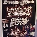 Slaughter Witch - Other Collectable - The Guillotine Grand Opening flyer