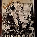 The Exploited - Other Collectable - Exploited flyer