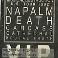 Napalm Death - Other Collectable - Napalm Death flyer