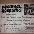 Internal Bleeding promo flyer