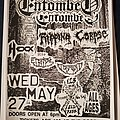 Entombed - Other Collectable - Entombed flyer
