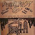 Punk Fest / Death flyer