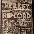 Heresy - Other Collectable - Heresy flyer