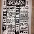 Incantation - Other Collectable - Wackys Deli flyer