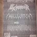 Exhorder - Other Collectable - Exhorder flyer