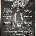 Nunslaughter - Other Collectable - The Rites of Darkness fest flyer