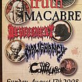 Macabre - Other Collectable - Somberlain Productions flyer
