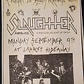 Slaughter (Can) - Other Collectable - Slaughter flyer