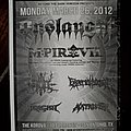Onslaught - Other Collectable - Onslaught flyer
