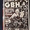 G.B.H. - Other Collectable - GBH flyer