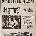 EMBALMER - Other Collectable - Embalmer flyer