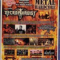 Necrophagist - Other Collectable - Shredfest Flyer