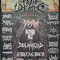 Disgorge - Other Collectable - Building Temples from Death Fest 2012 flyer