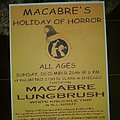 Macabre - Other Collectable - Holiday of Horror flyer