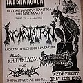 Incantation - Other Collectable - Incantation flyer