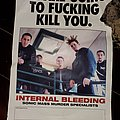 Internal Bleeding - Other Collectable - Internal Bleeding promo mini poster