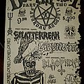 Splatterreah - Other Collectable - Deathfest 90 flyer part 2